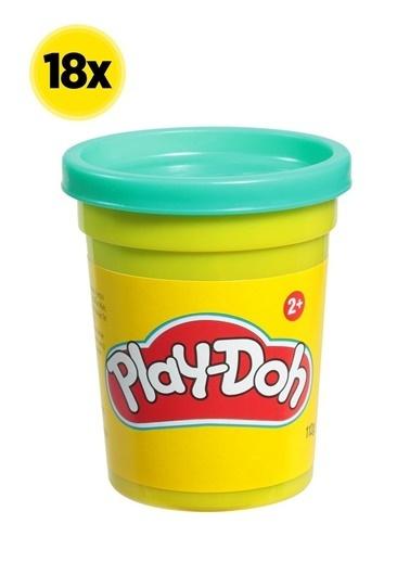 Hasbro Play-Doh Tekli Hamur X 18 Adet Renkli